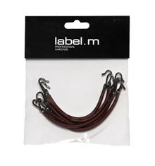 label.m Bungee Hook Brown (Pack of 6)