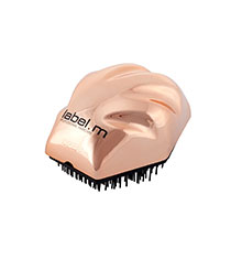 label.m Detangle Brush - Rose Gold