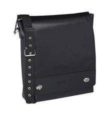 label.m Black Leather Stylist Bag
