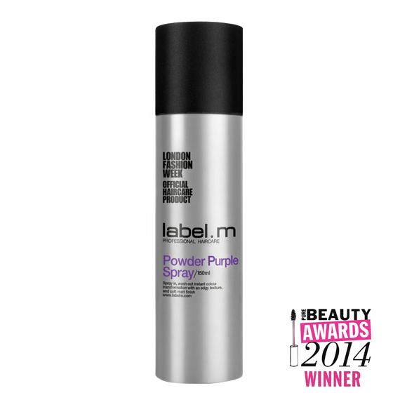 label.m Powder Purple Spray