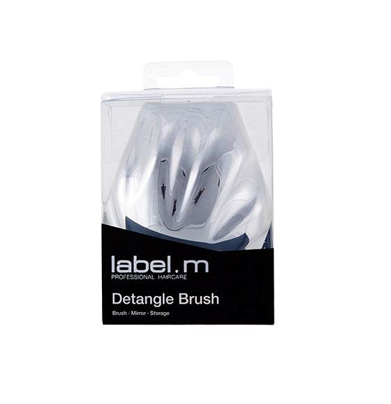 label.m Detangle Brush - Silver