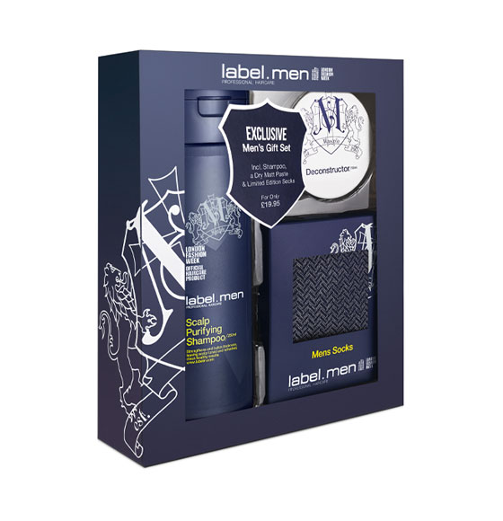 label.men Grooming Gift Set