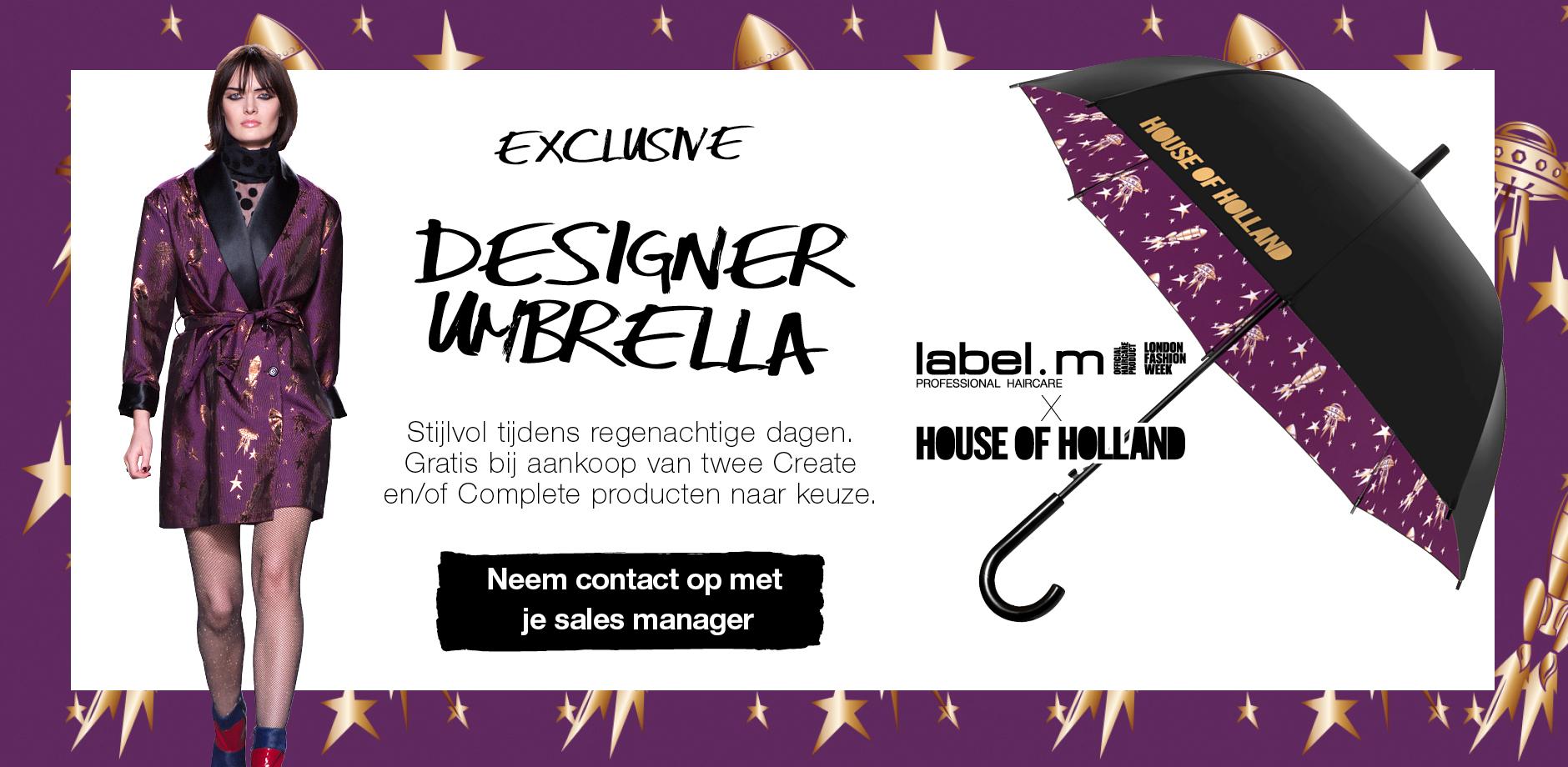 House of Holland Umbrella