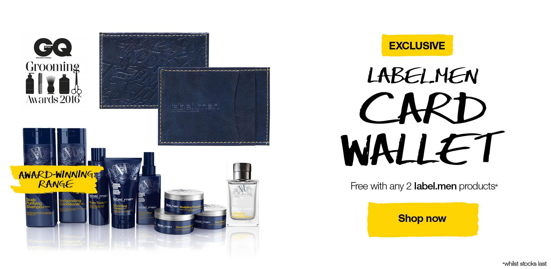 label.men wallet Summer 2016 promo