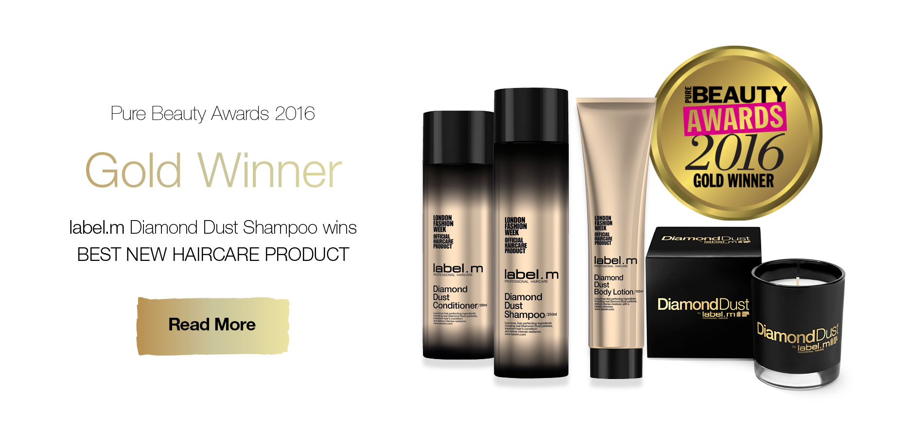 Diamond Dust Pure British Award Gold Winner