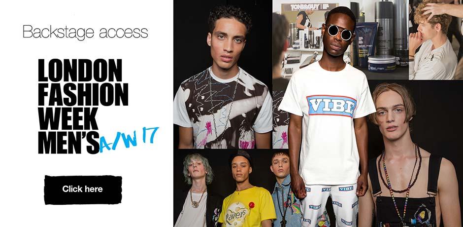 London Fashion Week Mens AW17